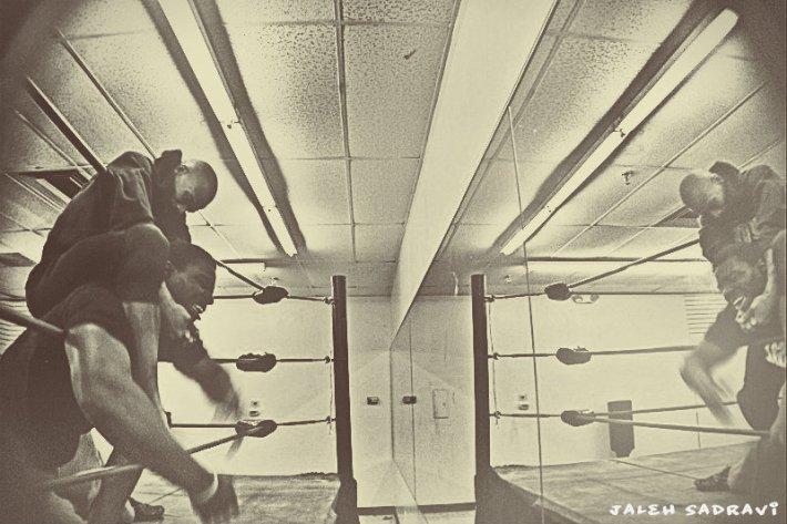 wrestlingblackandwhite