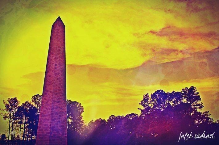 faux washington monument