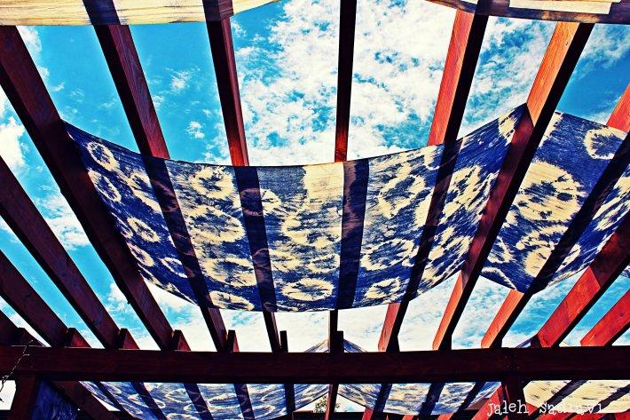 little rock tie dye canopy