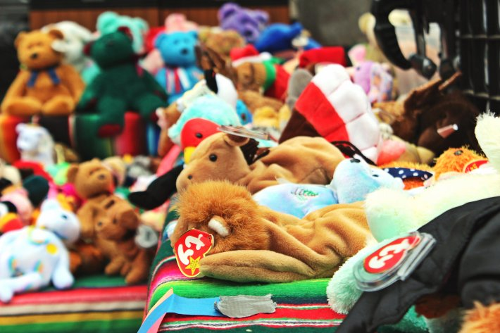 land of lost beanie babies